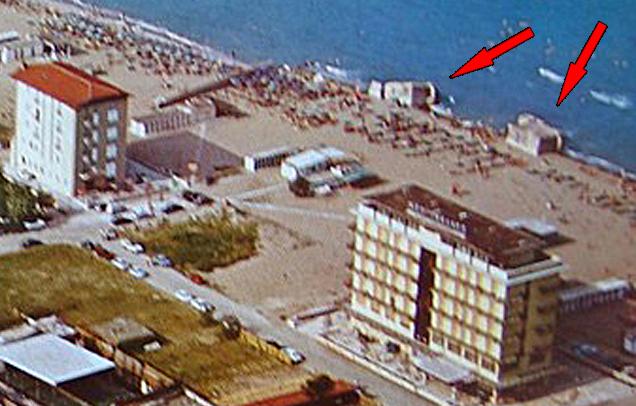 Bunker tedeschi foto inedite di lido di savio il blog - Bagno cavallino lido di savio ...