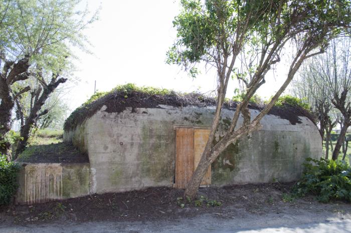 Restauro del bunker tedesco a Cervia