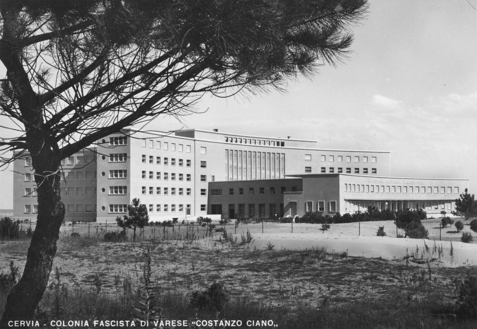 Colonia Varese: prigione al mare