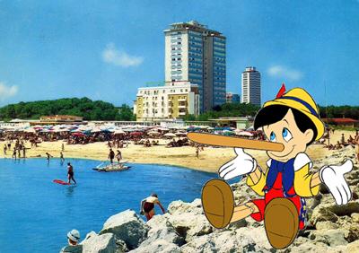 Pinocchio a milano marittima il blog di cervia e milano - Bagno adriatico milano marittima ...