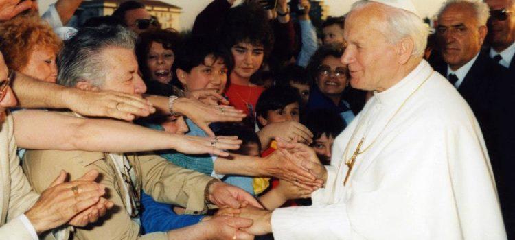 Papa Giovanni Paolo II a Cervia