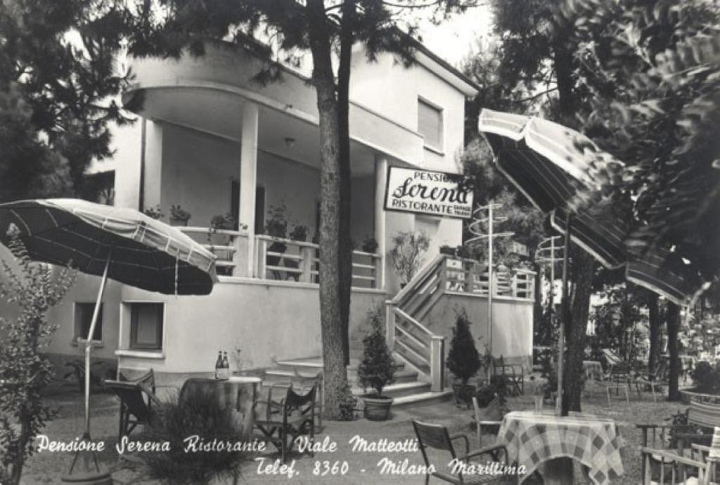 Pensione Serena – Viale Matteotti, Fam. Giorgi (oggi appartamenti)