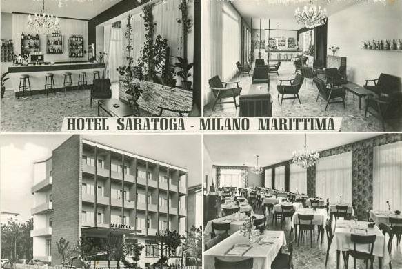 Hotel Saratoga - Decima Traversa, Fam. Comandini