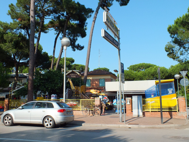 Le vecchie ville di Milano Marittima